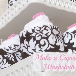 cupcake washcloth