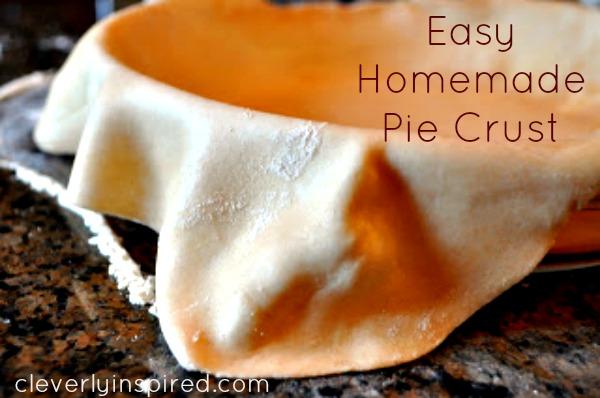 easy homemade pie crust
