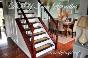 DIY Iron Spindles for a Staircase: Video