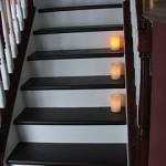Refinishing hardwood stairs