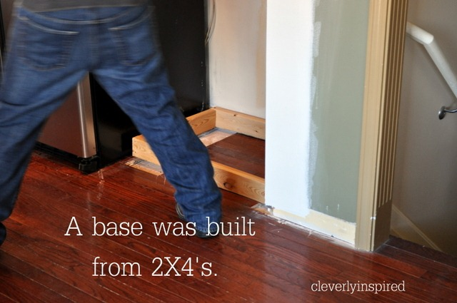 Attirant Bill Built A Base Out Of 2×4u2026we Loosely Followed Ana Whiteu0027s Plan For  Building The Base Unit. I Didnu0027t Take Pictures For Some Of The Construction  (sorry, ...