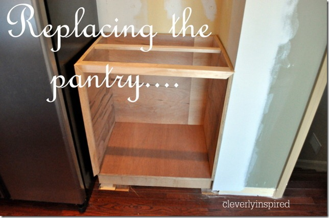 Installing Wood Countertop And Building A Base Cabinet DIY Cleverly Inspired