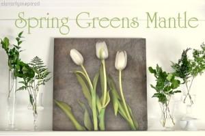 Spring Greens Mantle