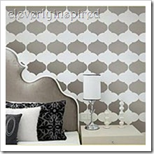 Stencil-pattern-wall-design