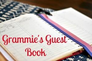 Grammie's guest book