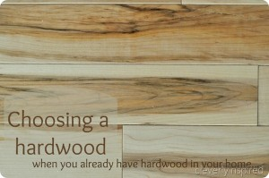 Can you have two different hardwoods in your home?