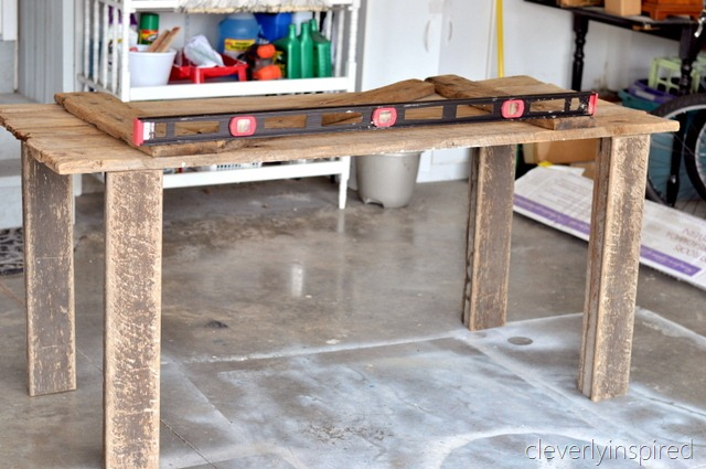 Diy Barn Door Desk Guest Post From Cleverly Inspired How To Nest