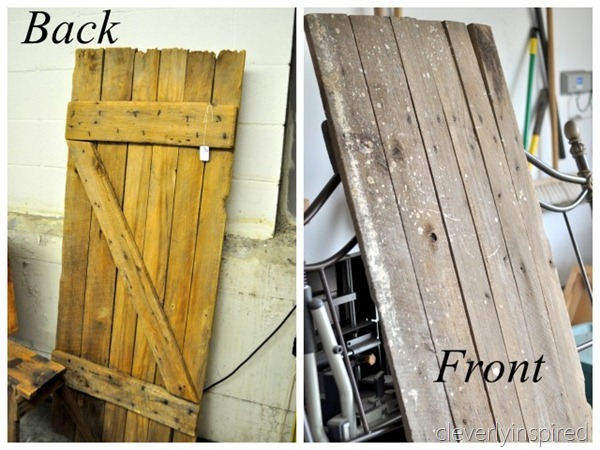 barn door desk