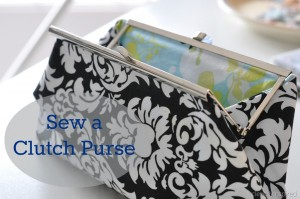 Update: How to sew a clutch and finish it