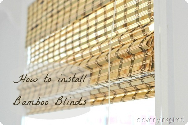 Bamboo blinds (1)