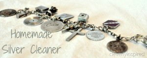 Home made cleaners: (silver jewelry cleaner)