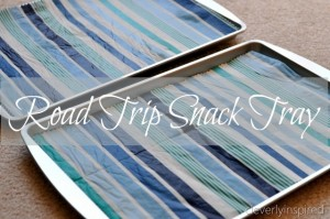 Make a Road Trip Snack Tray
