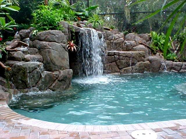 Paying for home improvements cleverly inspired for Garden oases pool
