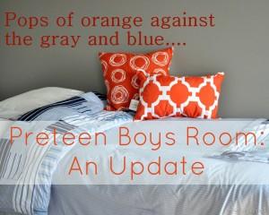 What I've been up;Preteen boys room update