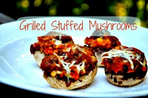 Grilled Stuffed Mushrooms (recipe)