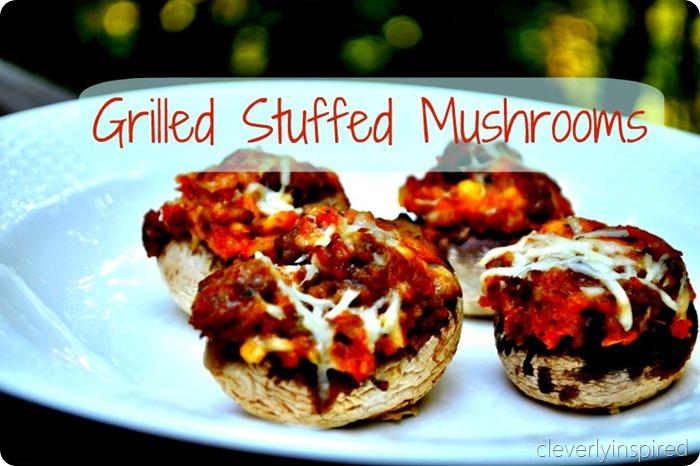 grilled stuffed mushroom recipe (1)