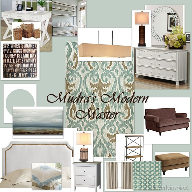 Blue Brown Bedroom Pictures: Modern Master Bedroom For Molly