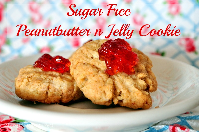 Sugar free Peanut Butter and Jelly Cookie recipe: Sponsored Post ...