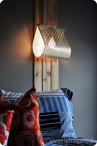 DIY metal light @cleverlyinspired (11)