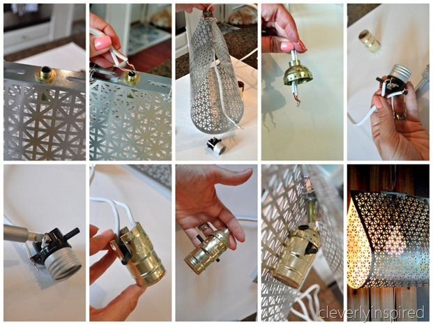 DIY metal light @cleverlyinspired (12)