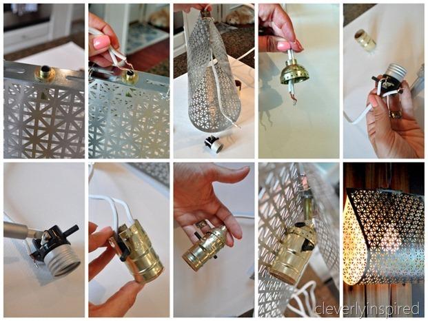 DIY metal light @cleverlyinspired (12)