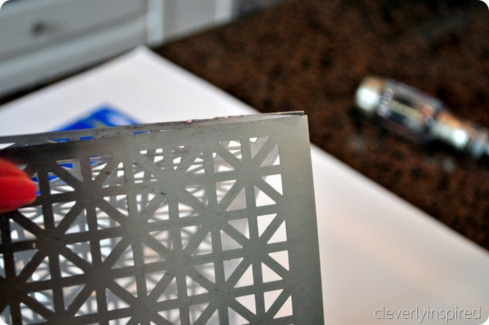 DIY metal light @cleverlyinspired (2)