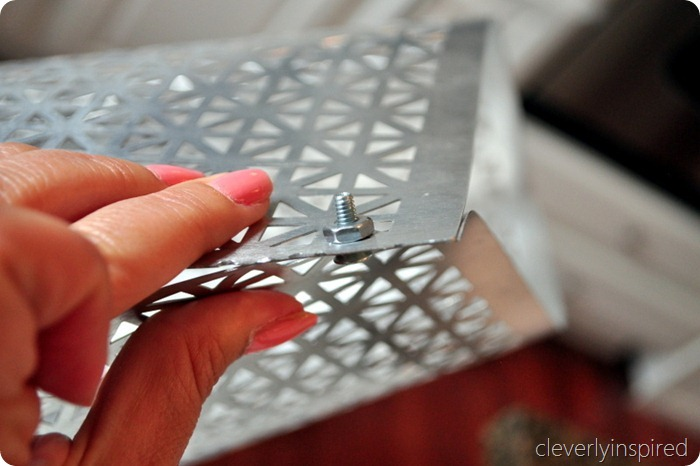 DIY metal light @cleverlyinspired (4)