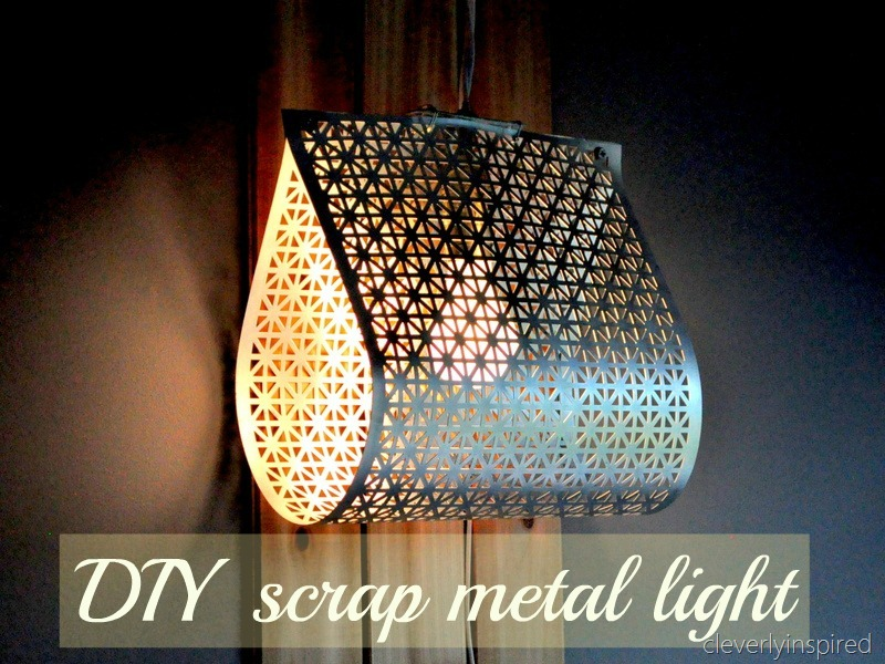 Do It Yourself Wall Light : DIY light fixture