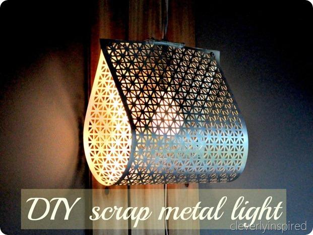 DIY metal light @cleverlyinspired (9)