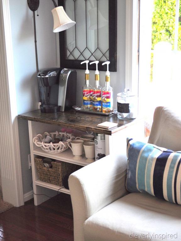 Coffeebar In Kitchen Www.cleverlyinspired (8)
