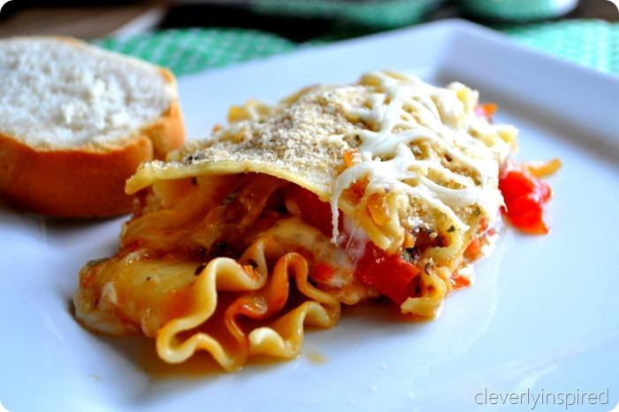 fresh tomato lasagna cleverlyinspired(18)