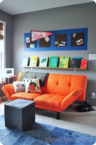 gray and orange boys room (11)