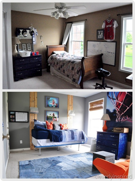 gray and orange boys room (3)