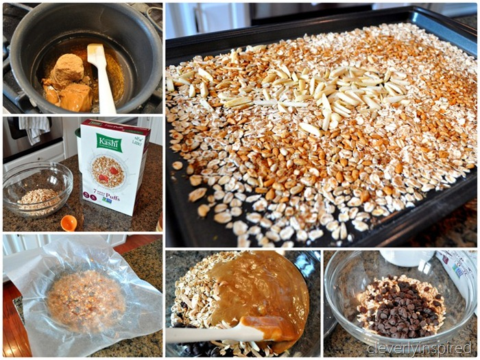 homemade granola bar recipe @cleverlyinspired (1)