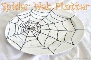 Halloween Spider Cheese ball and Platter (appetizer)