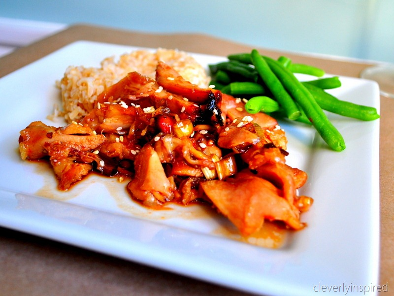Slow cooker chinese chicken recipe crock pot recipes cleverly crockpot chinese chicken 4 forumfinder Images
