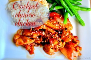 Slow Cooker Chinese Chicken Recipe (crock pot recipes)