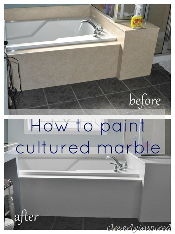 How To Paint Cultured Marble - Epoxy paint for sinks and tubs