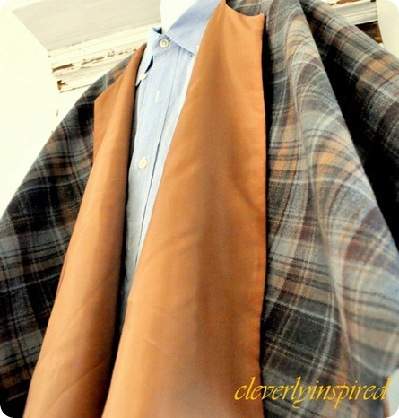 how to sew a cape @cleverlyinspired (2)