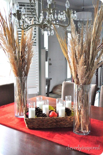 natural fall centerpiece @cleverlyinspired (12)