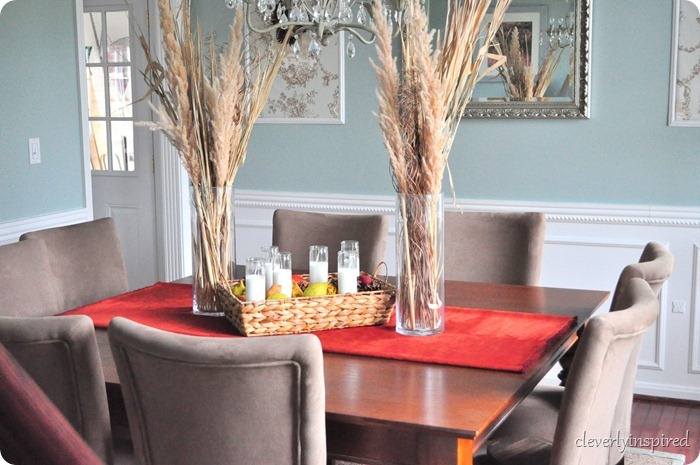 natural fall centerpiece @cleverlyinspired (14)