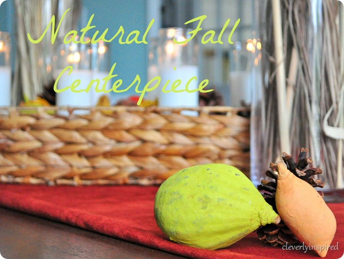 natural fall centerpiece @cleverlyinspired (17)