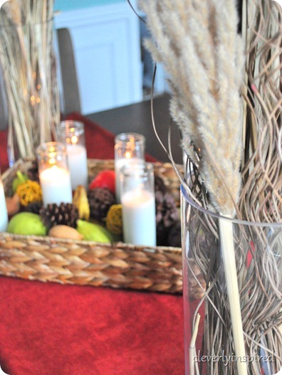 natural fall centerpiece @cleverlyinspired (19)
