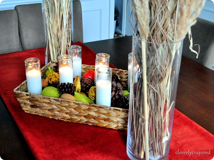 natural fall centerpiece @cleverlyinspired (20)