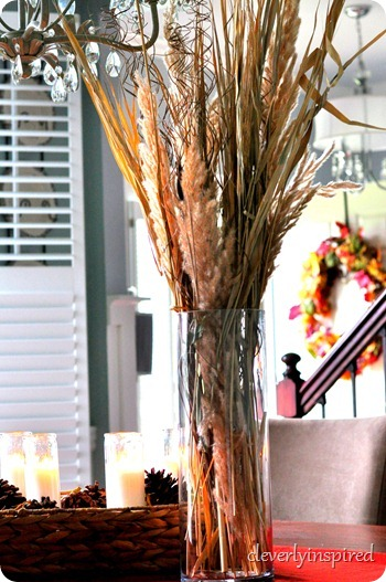 natural fall centerpiece @cleverlyinspired (34)