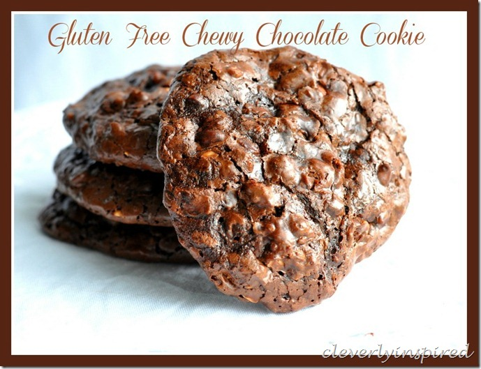 no flour chewy chocolate cookie @cleverlyinspired (6)