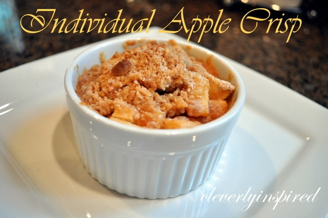 apple crisp @cleverlyinspired