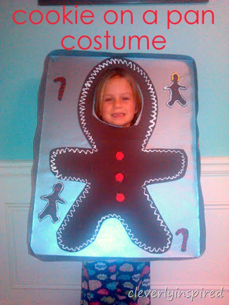 Cookie on a Pan: Halloween Costume