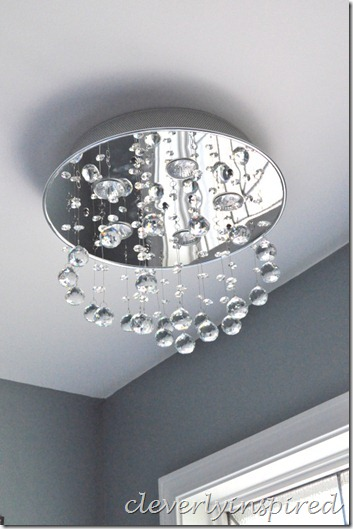 replace recessed light with ceiling light@cleverlyinspired (3)