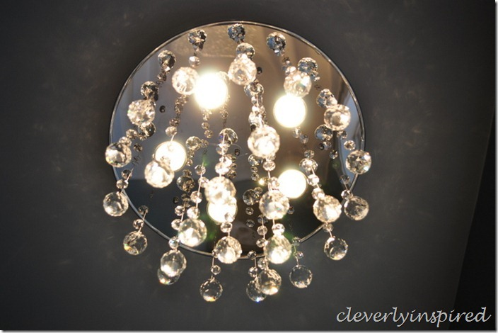 replace recessed light with ceiling light@cleverlyinspired (5)